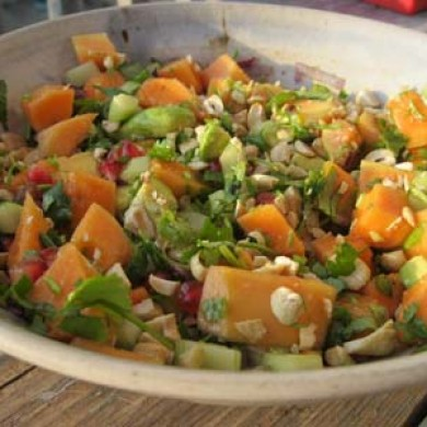 Summer Salad with Zesty Dressing